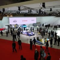 Toyota stand at the 2013 Tokyo motor show