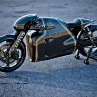 Lotus Motorcycles C-01 prototype by Daniel Simon