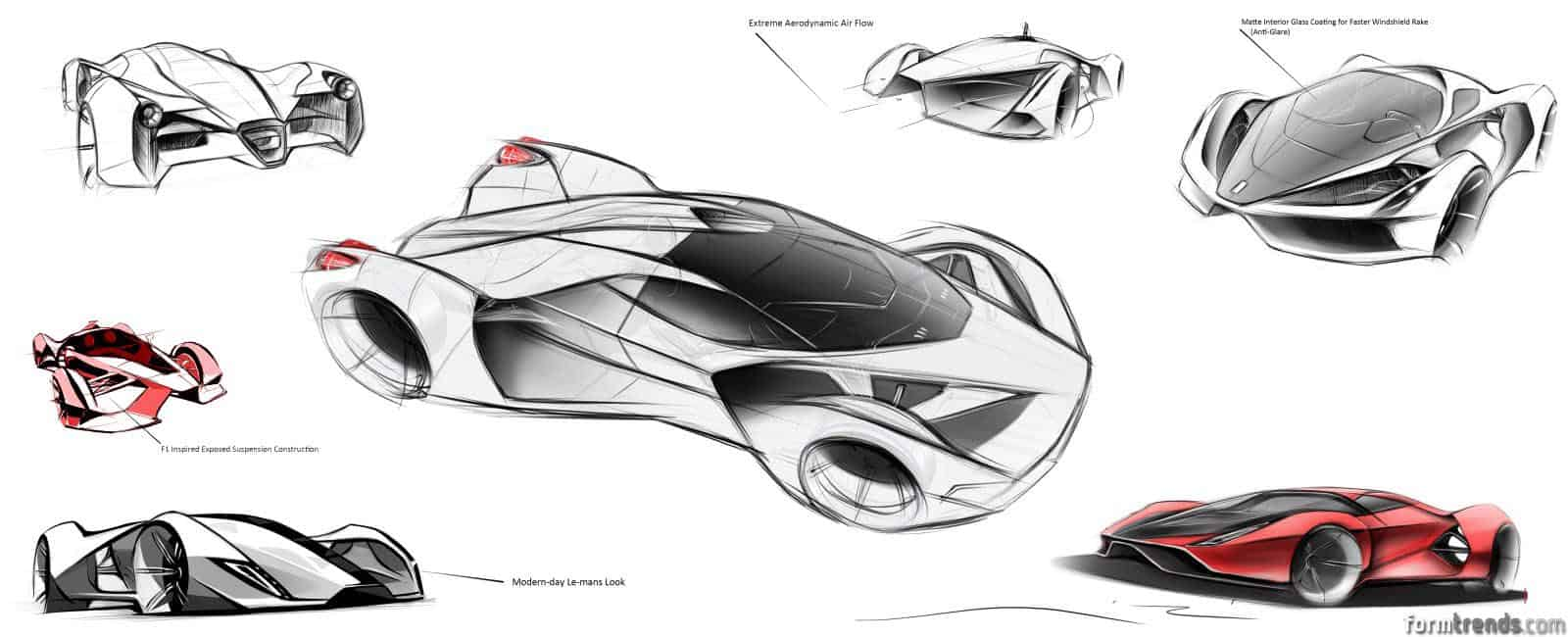art center 2014  ferrari f80 concept  u00ab form trends