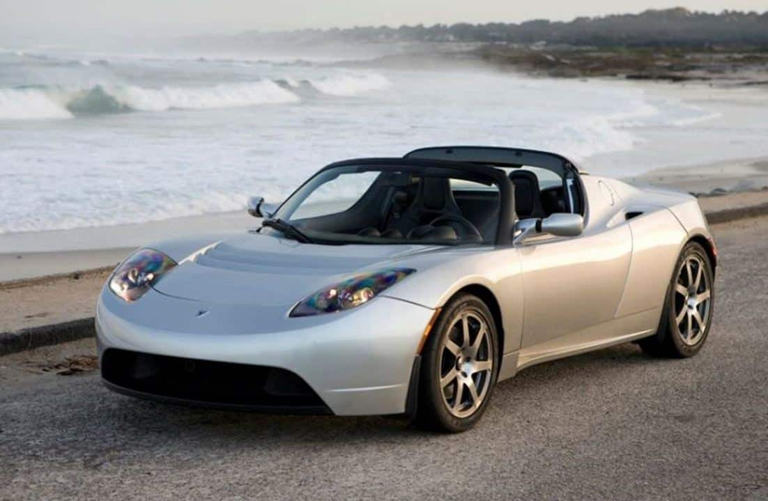 Tesla Roadster 2008 Form Trends