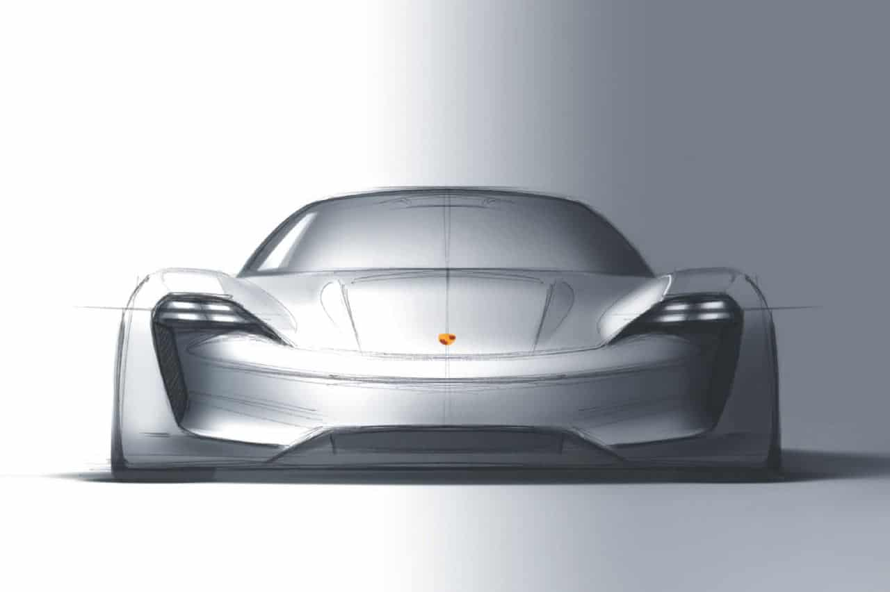 Porsche Mission E Concept Showcases Brand's Electric Intent