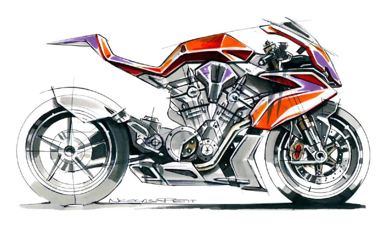 motorcycle design on - photo #12