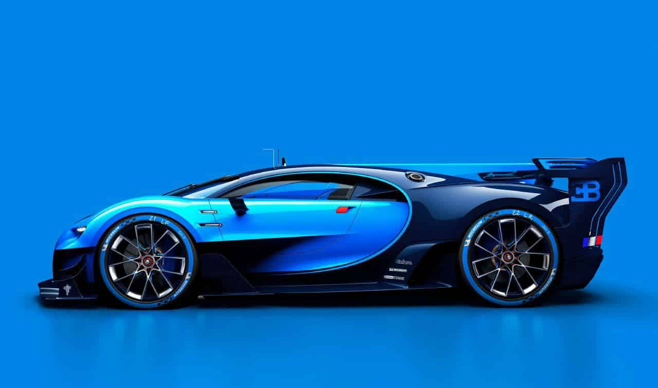 bugatti reveals vision gran turismo. Black Bedroom Furniture Sets. Home Design Ideas